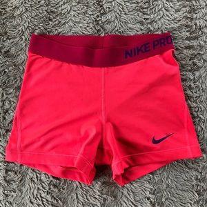 """Nike Pro Women's Dri Fit 3"""" Shorts"""